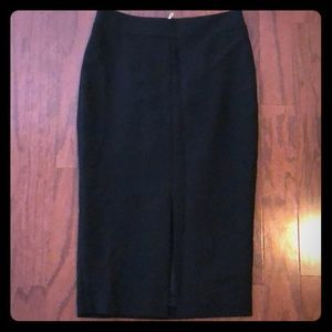 Ann Taylor pencil skirt with middle split